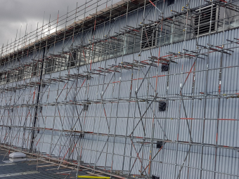 Recent Factory Roof Access Scaffold